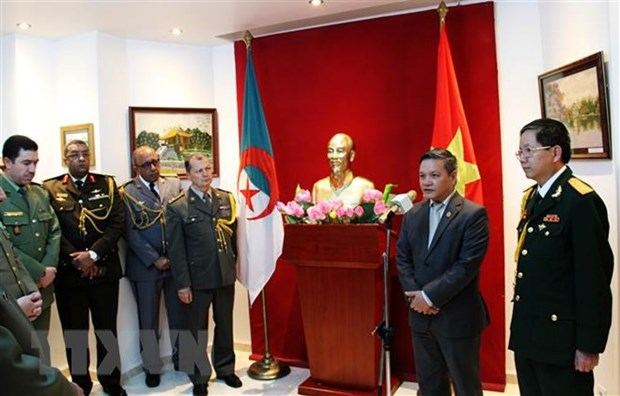 Founding anniversary of Vietnam People's Army marked in Algeria hinh anh 1