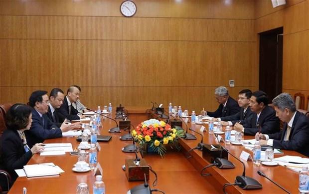 Myanmar's USDP delegation visits Vietnam hinh anh 1