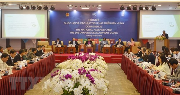National Assembly conference on SDGs concludes hinh anh 1