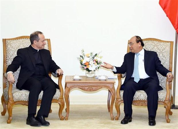 Prime Minister welcomes Holy See delegation hinh anh 1