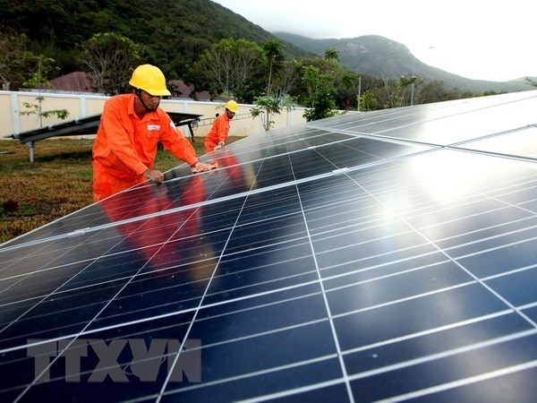 Six more solar power projects licensed in Binh Phuoc hinh anh 1