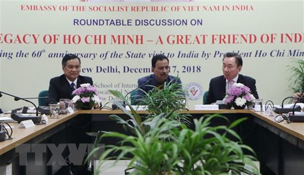Workshop on President Ho Chi Minh held in India hinh anh 1