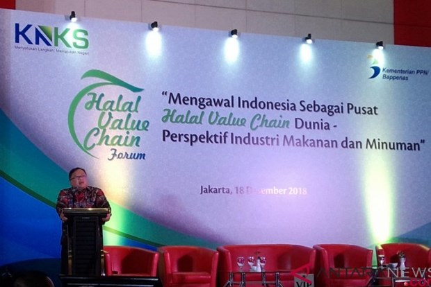Indonesia promotes halal food, beverage exports hinh anh 1