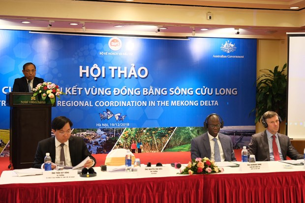 Experts seek solutions to strengthen connectivity in Mekong Delta hinh anh 1
