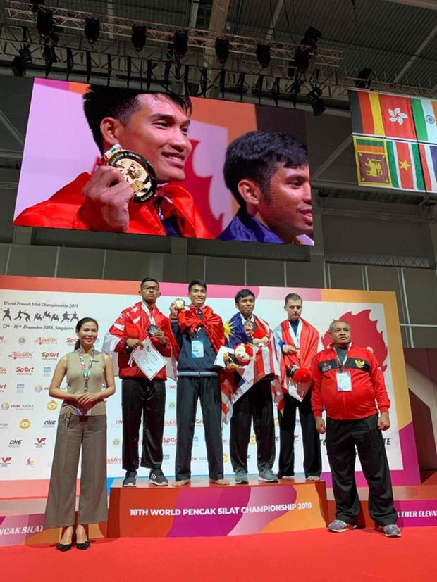 Vietnam finish second at World Pencak Silat champs hinh anh 1