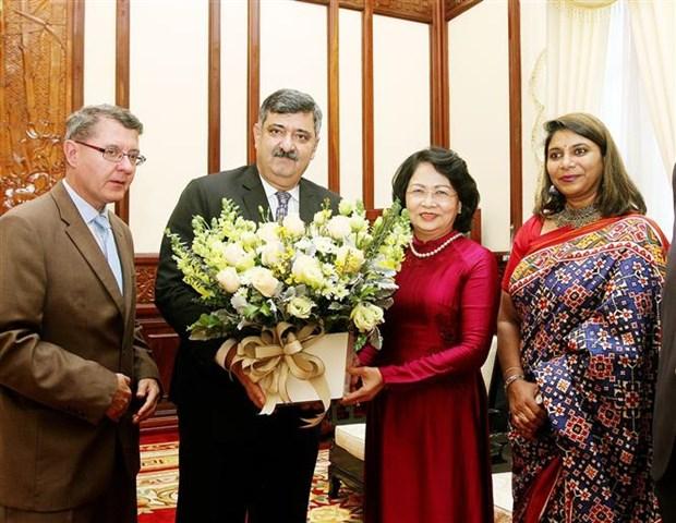 Vice President receives SOS Children's Villages International leader hinh anh 1