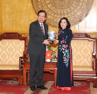 CPJ delegation visit Ninh Binh province hinh anh 1
