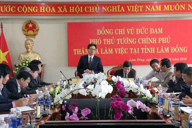 Da Lat to be developed into smart city hinh anh 1