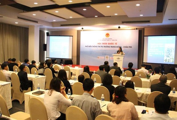 Middle East, Africa as potential destinations for Vietnamese goods hinh anh 1