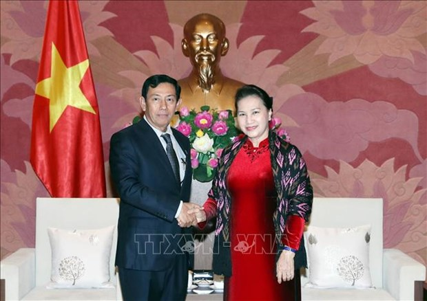 NA Chairwoman looks to tighten ties with Myanmar hinh anh 1