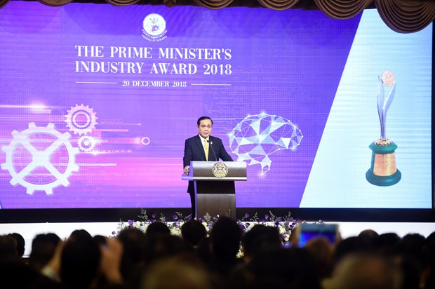 Thai Prime Minister's Industry Award 2018 honours SMEs hinh anh 1