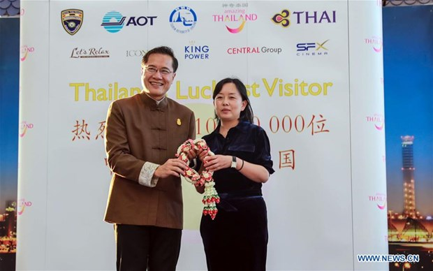 Thailand welcomes 10 million Chinese tourists in 2018 hinh anh 1