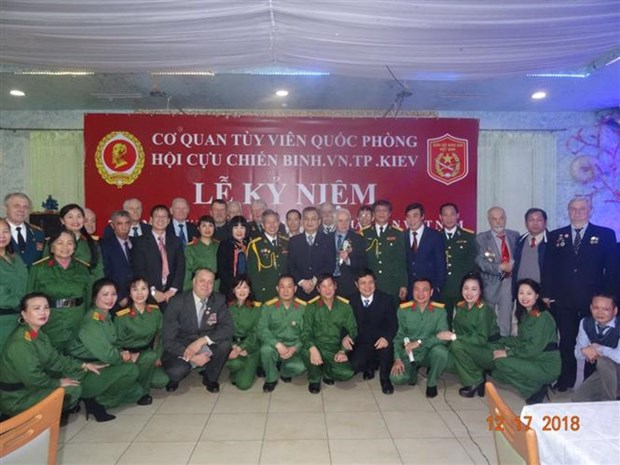 Vietnam People's Army founding anniversary marked in Ukraine hinh anh 1