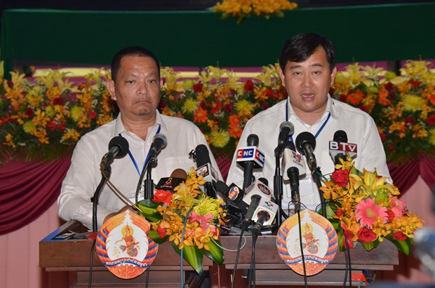 Cambodia: 41st session of CPP Central Committee wraps up hinh anh 1