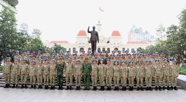Field hospital no.2 – new milestone in Vietnam's peacekeeping efforts hinh anh 1