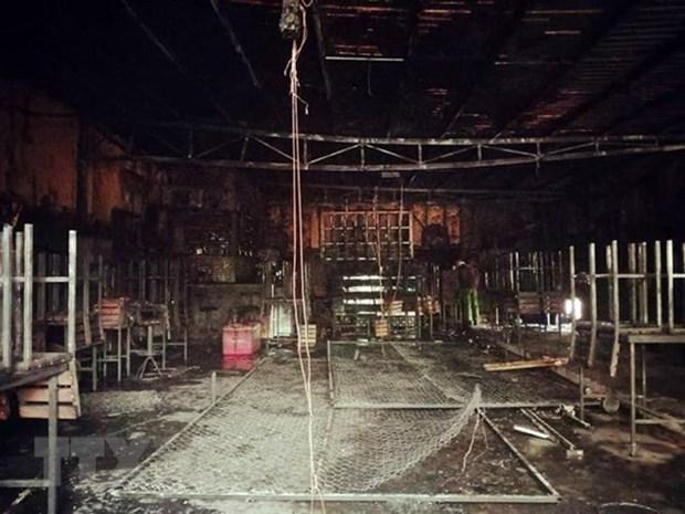 Dong Nai: renovated restaurant fire kills 6, injures 1 hinh anh 1