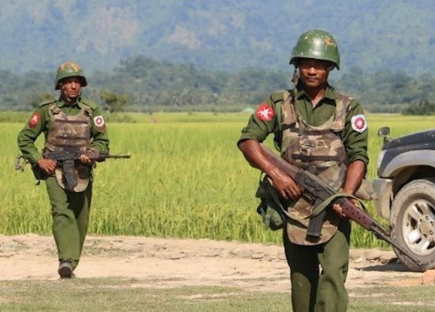 Myanmar army suspends military actions against armed groups hinh anh 1