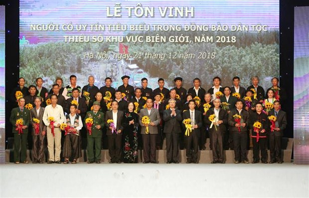 Programme honours outstanding ethnic minority figures hinh anh 1