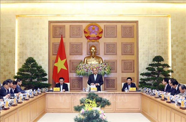 PM works with advisory team on 2019 growth targets hinh anh 1
