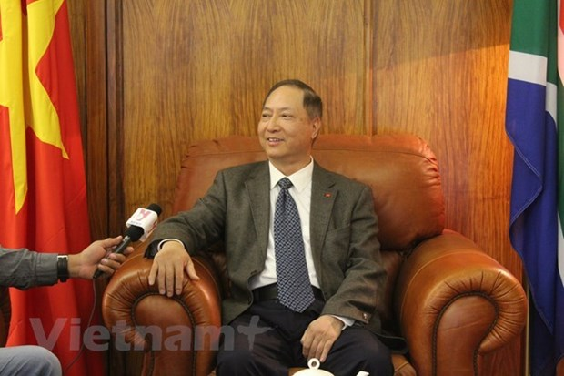 Vietnam-South Africa relations develop comprehensively: Ambassador hinh anh 1