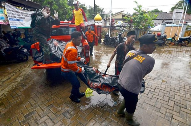 At least 168 people die in Indonesia tsunami hinh anh 1