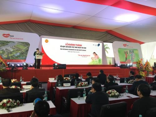 Masan Group inaugurates meat processing complex in Ha Nam hinh anh 1
