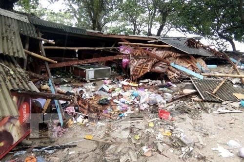 No Vietnamese victims reported in Indonesia tsunami: embassy hinh anh 1