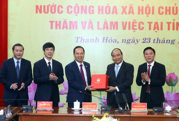 Gov't leader urges rapid industrialisation in Thanh Hoa province hinh anh 1