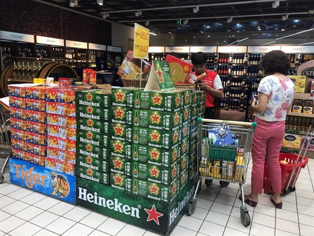 As Tet approaches, beer market already fizzing hinh anh 1