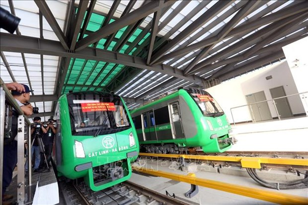 Minister urges official operation of Cat Linh-Ha Dong urban railway hinh anh 1