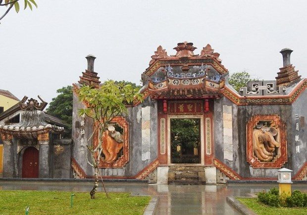 Hoi An opens old temple complex to public hinh anh 1