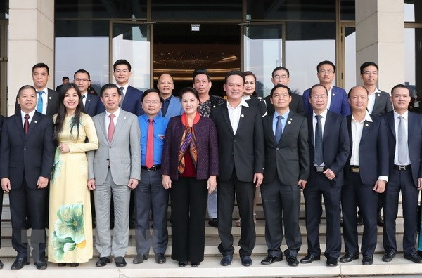 NA Chairwoman urges better role of young entrepreneurs hinh anh 1