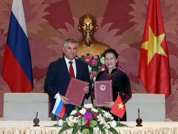 Parliamentary cooperation – important pillar of Vietnam-Russia ties hinh anh 1