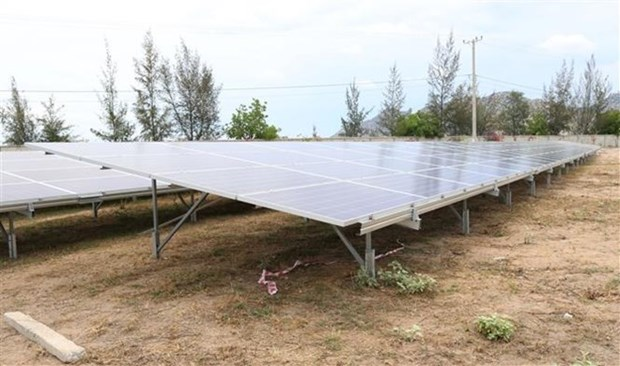 Work starts to connect solarpower plants to national grid hinh anh 1