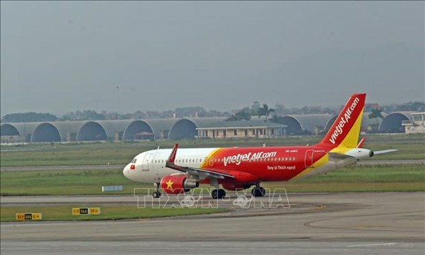 Vietjet makes precautionary landing over technical warning hinh anh 1