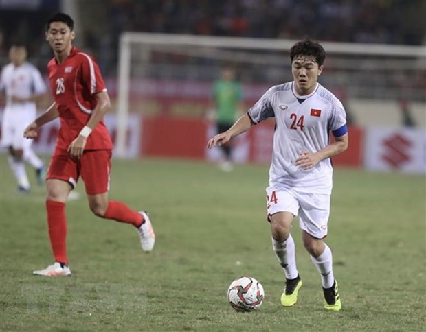Vietnam tie DPRK 1-1 in friendly ahead of Asian Cup hinh anh 1