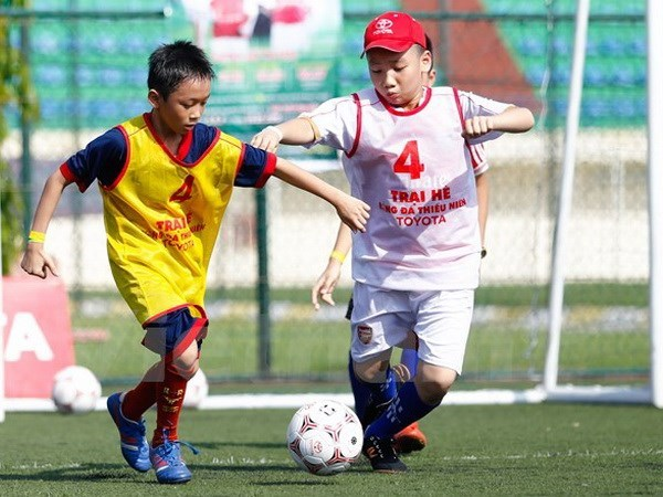 First football tourney for disadvantaged children slated for 2019 hinh anh 1