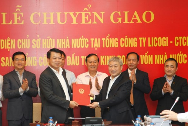 State capital at construction firm LICOGI handed over to SCIC hinh anh 1