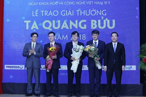 Vietnam's 10 outstanding science-technology events in 2018 hinh anh 2