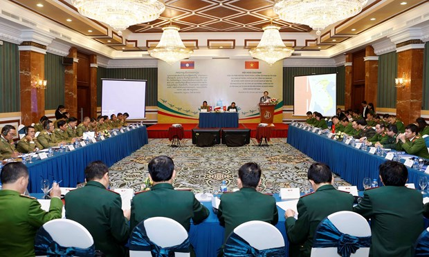 Vietnam, Laos boost anti-drug cooperation in border areas hinh anh 1