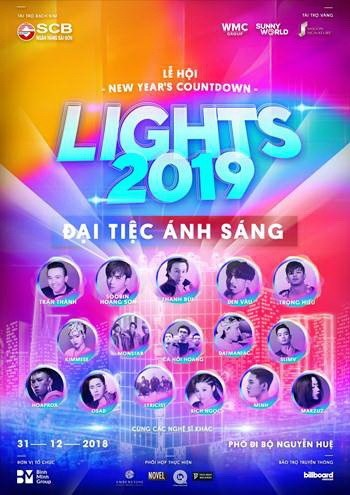 Countdown party rings in new year on Nguyen Hue Walking Street hinh anh 1