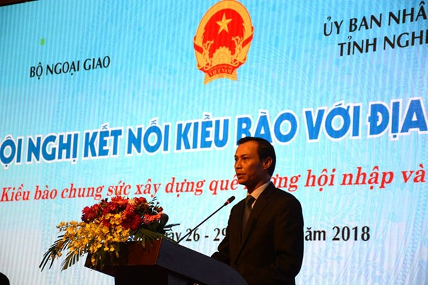 Conference helps connect overseas Vietnamese with localities hinh anh 1