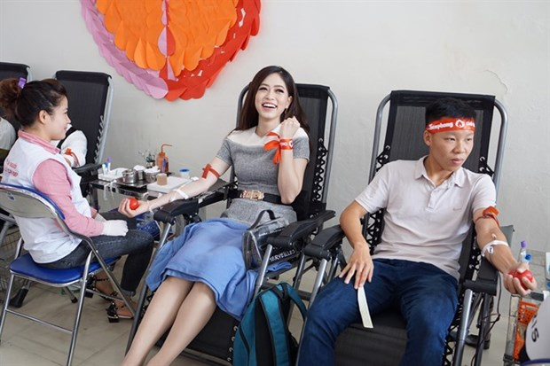 Red Sunday blood donation campaign starts in capital Hanoi hinh anh 1