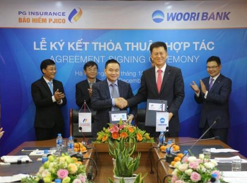 Vietnam non-life insurance company partners with Korean bank hinh anh 1
