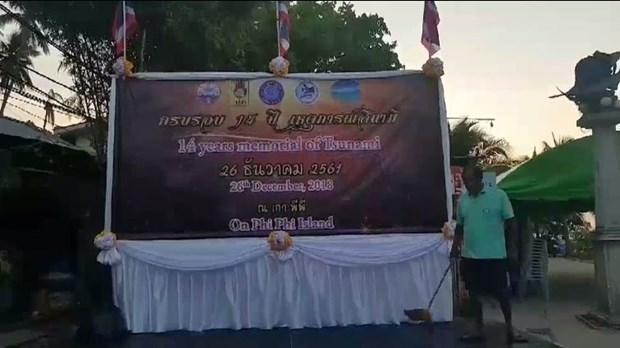 Thailand marks 14th anniversary of Andaman tsunami hinh anh 1