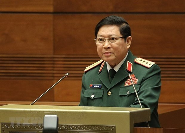 Vietnamese defence chief pays official visit to Cambodia hinh anh 1