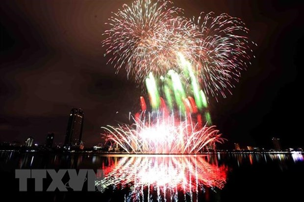 Da Nang to set off fireworks to welcome New Year hinh anh 1