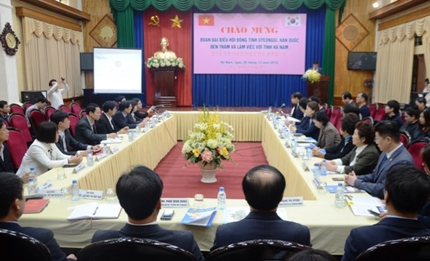 Ha Nam pledges favourable conditions for RoK businesses hinh anh 1