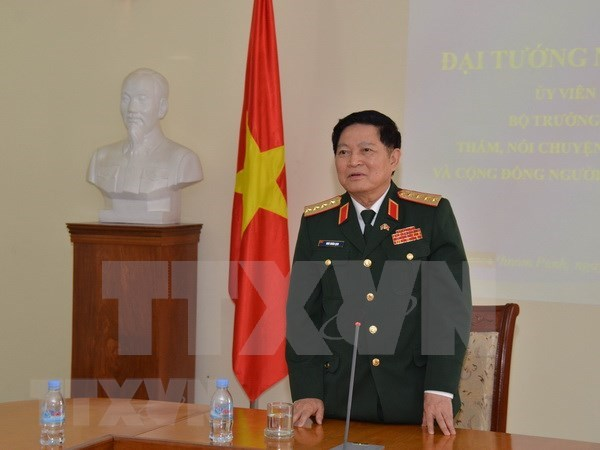 Vietnam, Laos deepen defence cooperation hinh anh 1