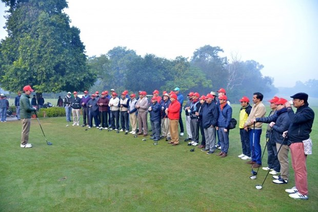 Vietnam's golf tourism promoted in India hinh anh 1